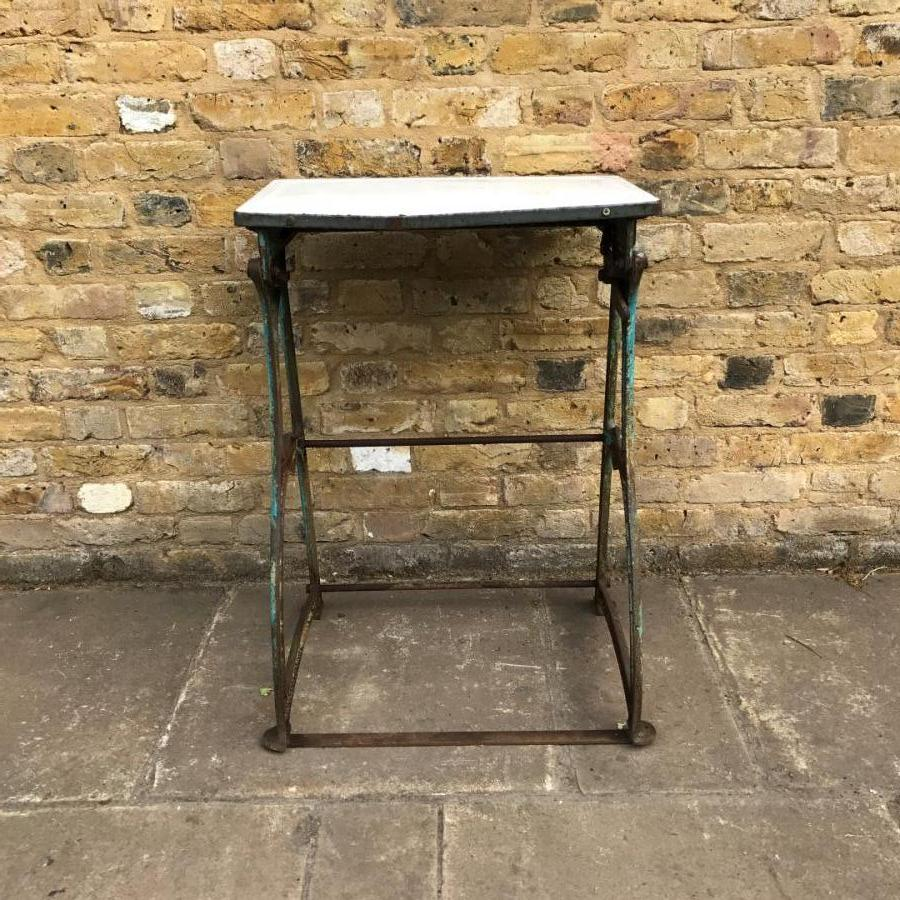 Cast Iron Mangle Base with Tin Top