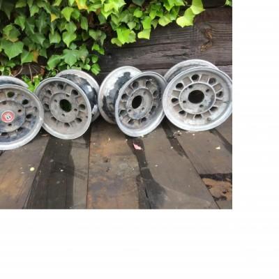 Mini Alloy Wheels x 4 Original