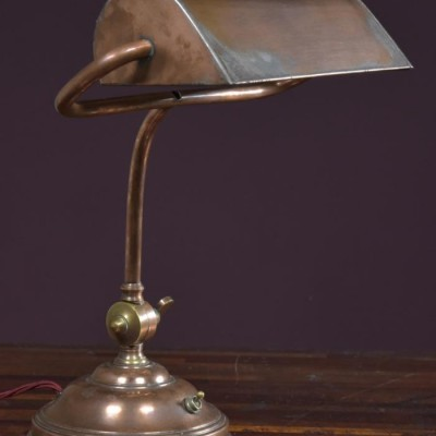 antique bankers desk lamp c1930