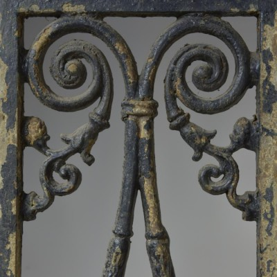 antique cast iron decorative grills porch support