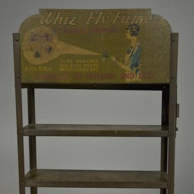 American Vintage whiz fly fume steel shelving