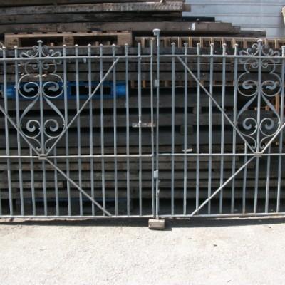 wrought iron gates 10ft