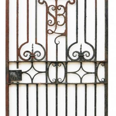 19th Century English Wrought Iron Gates