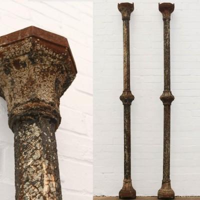 Victorian Cast Iron Bay Window Column