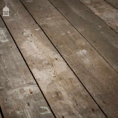 11 SqMtrs of Rough Finish Victorian T & G Floor Boards