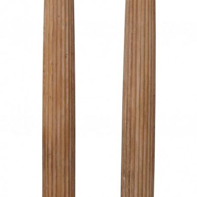 Georgian carved pine Ionic order fluted columns