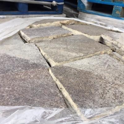 Granite flagstone reclaimed