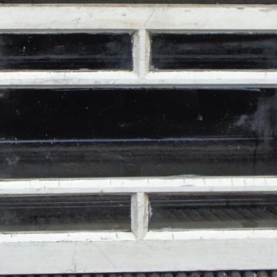 Reclaimed glazed pine window.