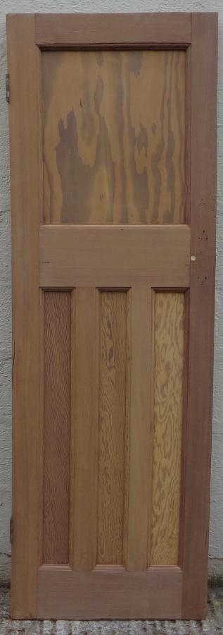 Small 1930s paneled door