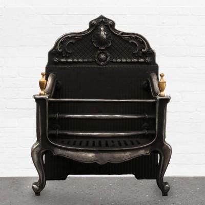 Antique Reclaim Cast Iron Fire Basket