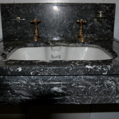 Edwardian marble vanity fitting