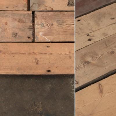 Reclaimed Solid Pine Flooring - 145mm x 35mm