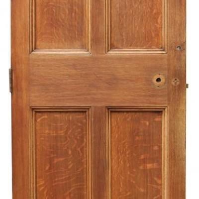 Antique Oak Six Panel Door