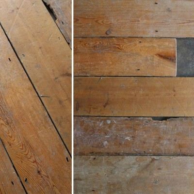 Reclaimed Solid Pine Flooring - 14cm x 1.8cm