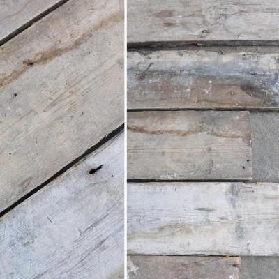 Reclaimed Solid Pine Flooring - 13cm x 2cm