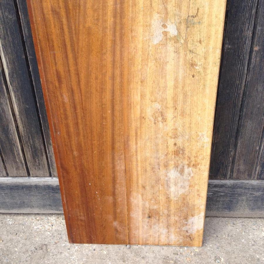 Reclaimed Solid Iroko/Teak Worktop 211cm x 59cm