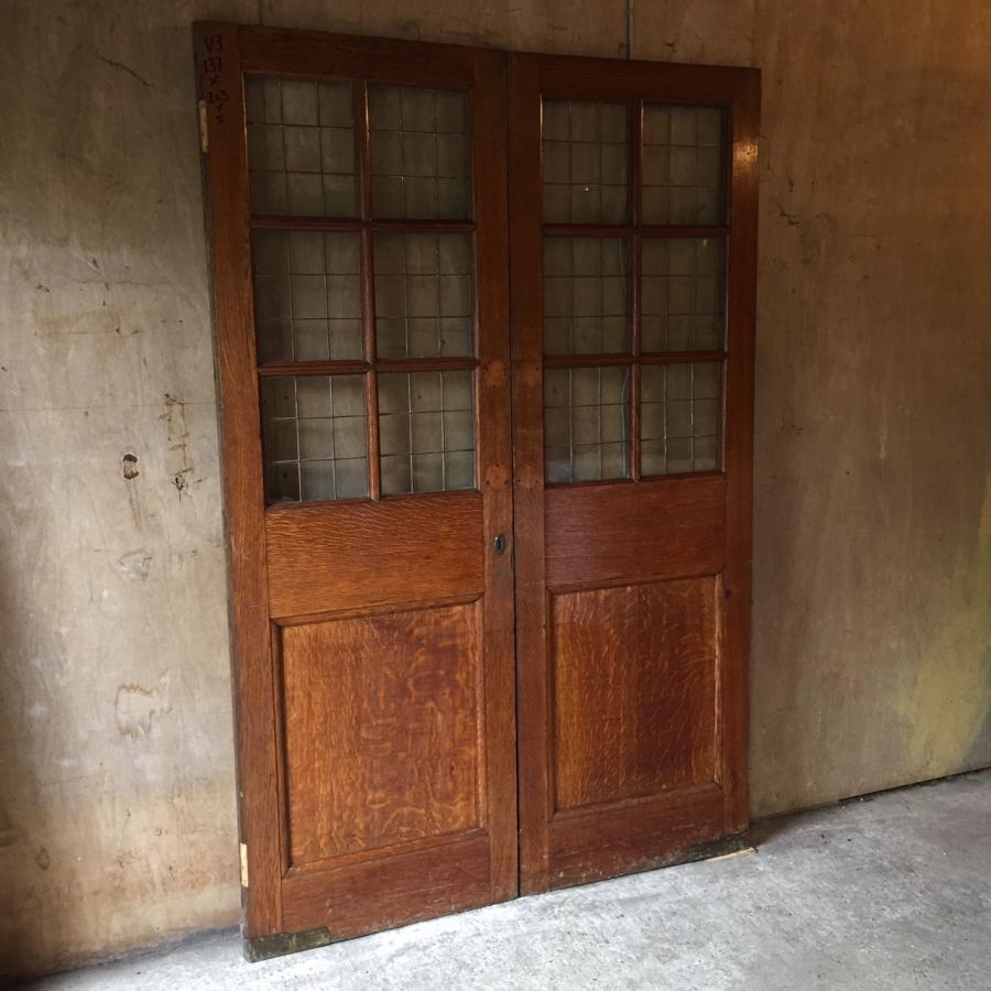 Pair Of Oak Double Doors