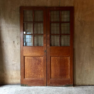 Pair Of Oak Double Doors