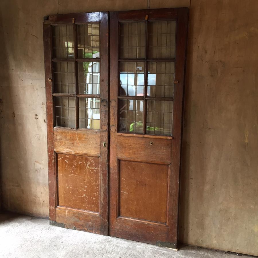 Antique Reclaimed Oak Doors