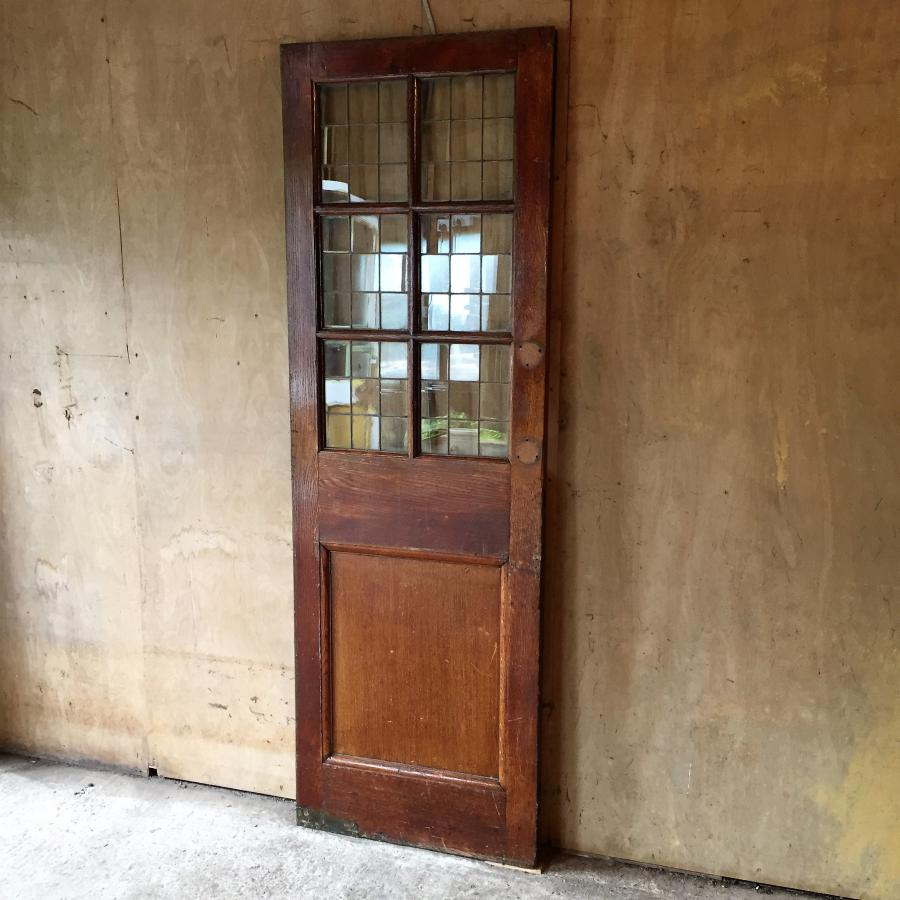 Antique Reclaimed Oak Door