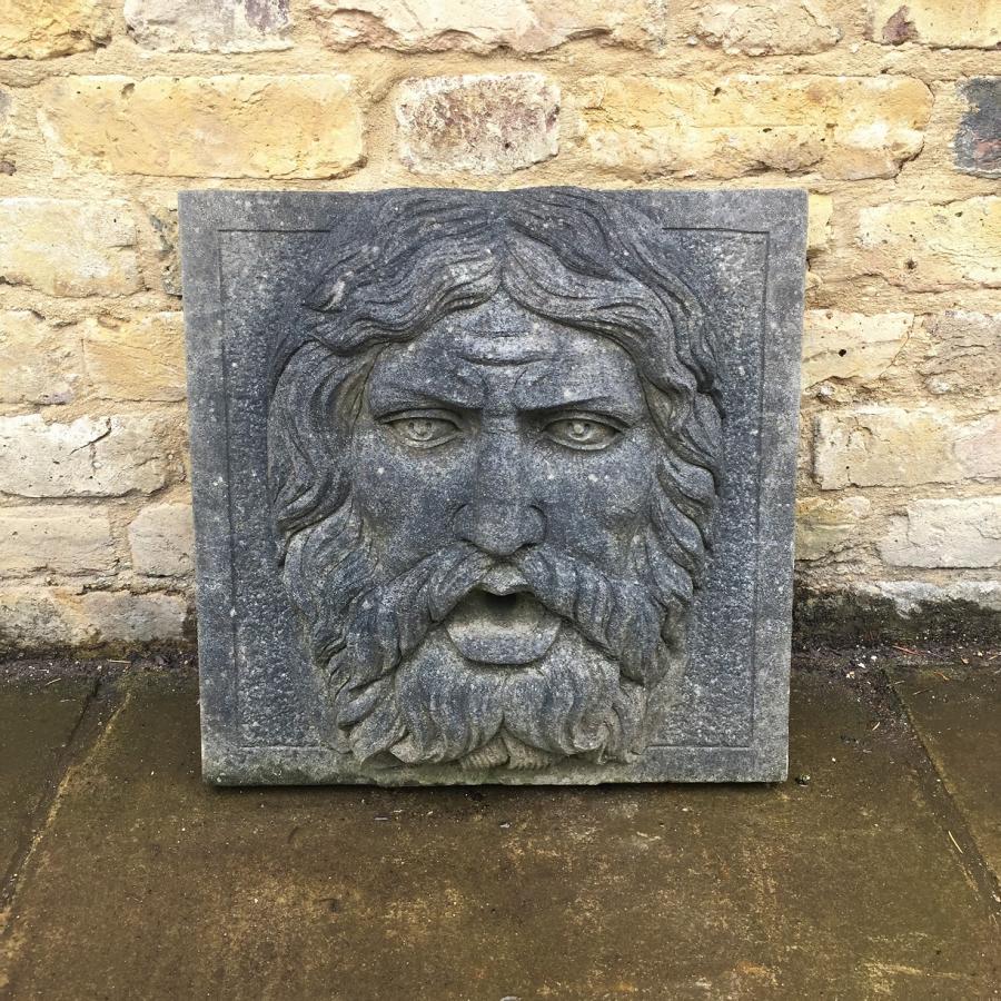 Reclaimed Stone Foutainhead