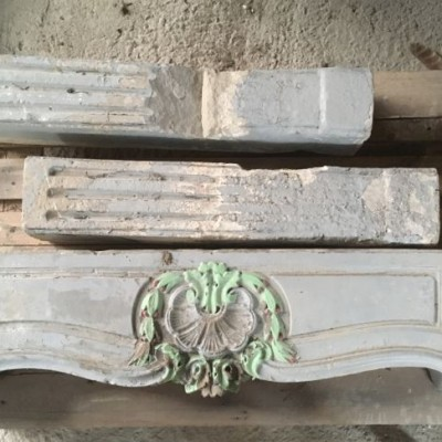 Four Antique Stone Fireplaces Available In September