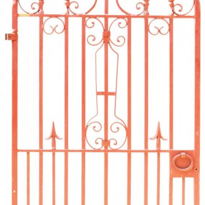 Reclaimed Metal Pedestrian Gate