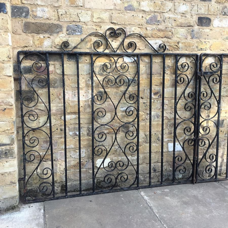 Pair Of Reclaimed Driveway Gates