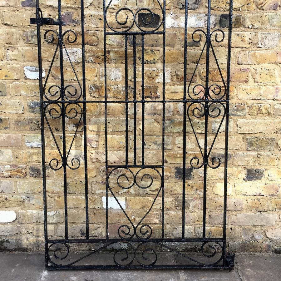 Reclaimed Wrought Iron Gate