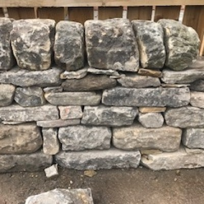 walling stone and copings