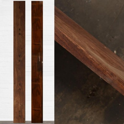 Reclaimed Solid Iroko Worktop 414cm x 34cm