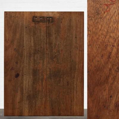 Reclaimed Solid Iroko Worktop 137.5cm x 106cm