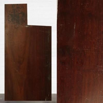 Reclaimed Solid Iroko Worktop 105cm x 67cm