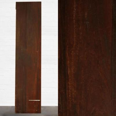 Reclaimed Solid Iroko Worktop 263cm x 60cm