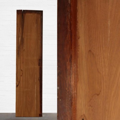 Reclaimed Solid Iroko Worktop 244cm x 60cm