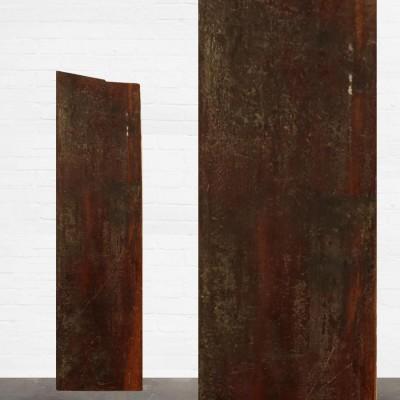 Reclaimed Solid Iroko Worktop 153cm x 43cm