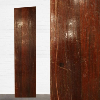 Reclaimed Solid Iroko Worktop 242cm x 60cm