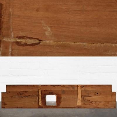 Reclaimed Solid Iroko Worktop 335cm x 76.5cm