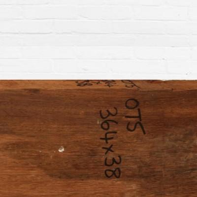 Reclaimed Solid Iroko Worktop 364cm x 38cm