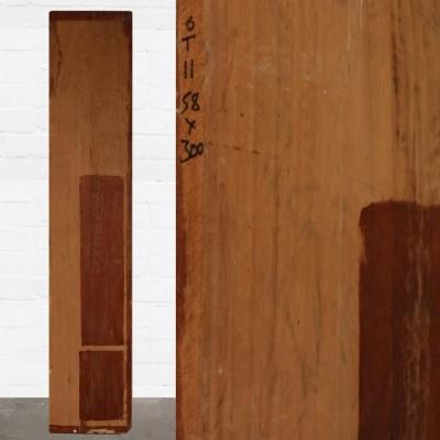 Reclaimed Solid Iroko Worktop 300cm x 58cm