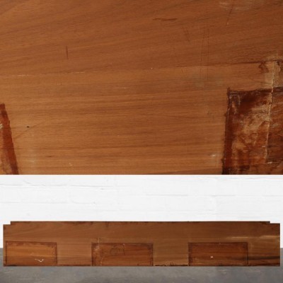 Reclaimed Solid Iroko Worktop 350cm x 60cm