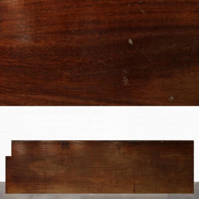 Reclaimed Solid Iroko Worktop 350cm x 75cm