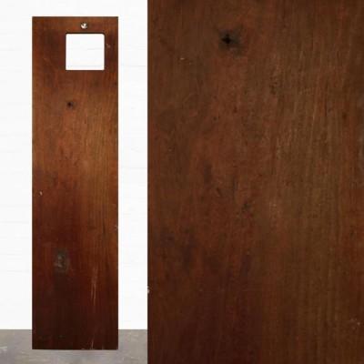 Reclaimed Solid Iroko Worktop 210cm x 68cm