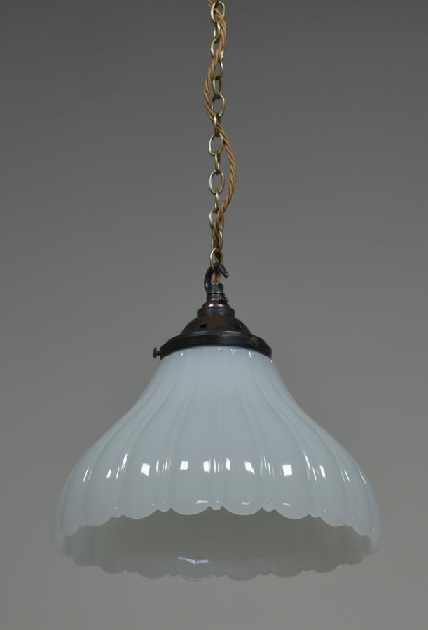 antique jefferson moonstone pendant light