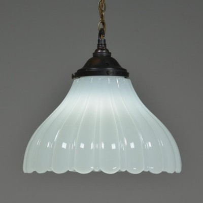 antique jefferson moonstone pendant light