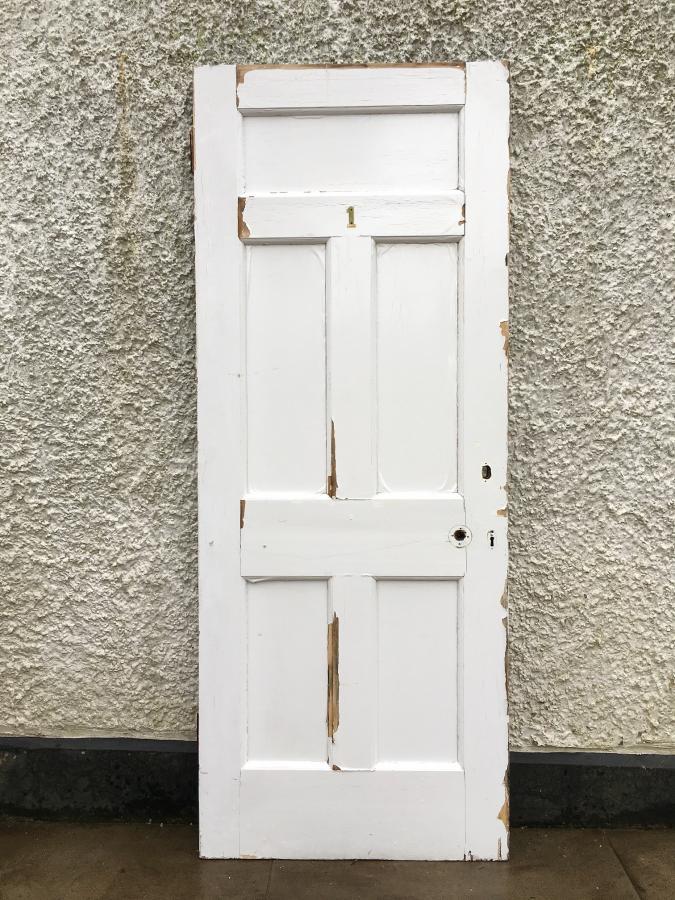 Reclaimed Four Panel Door