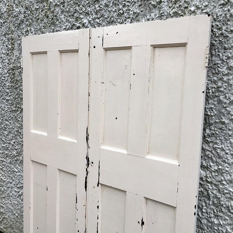 Pair Of Reclaimed Internal Doors