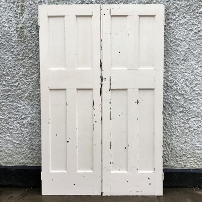 Pair Of Reclaimed Internal Doors