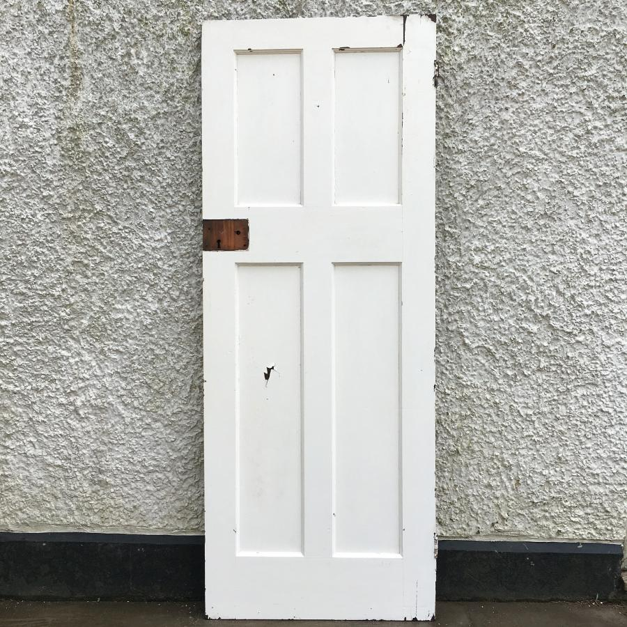 Reclaimed Victorian Four Panel Door