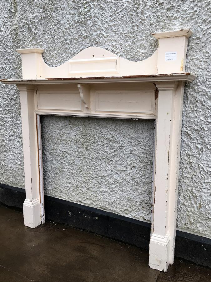 Reclaimed 1930's Timber Fire Surround